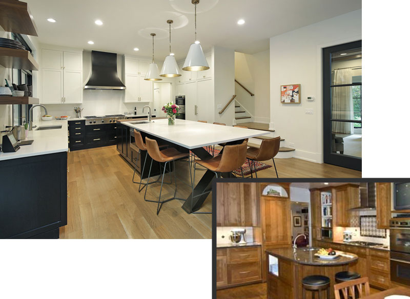 ReFresh2Sell home renovation kitchen meadowview chicago illinois before and after