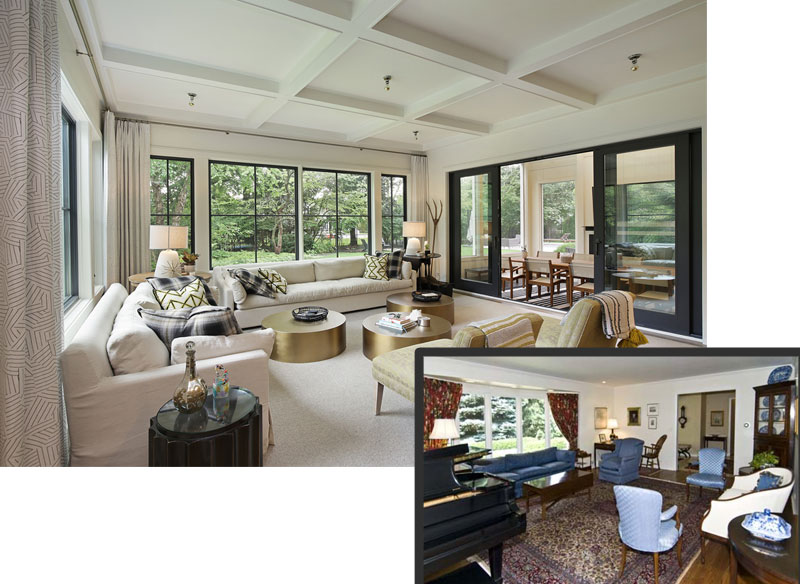 ReFresh2Sell home renovation diningroom meadowview chicago illinois before and after